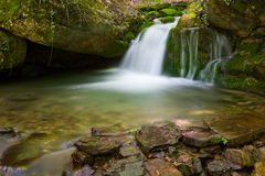 Nice small waterfall Royalty Free Stock Photography