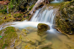 Nice small waterfall Stock Images