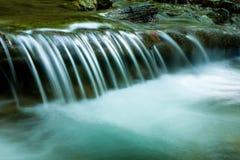 Nice small waterfall Royalty Free Stock Photos