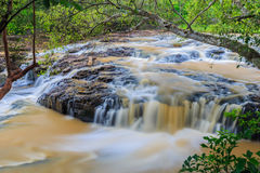 Nice small waterfall Royalty Free Stock Photo