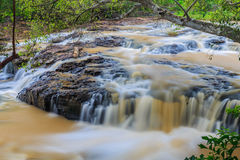 Nice small waterfall Royalty Free Stock Images