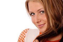 Nice smiling girl Stock Photography