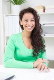 Nice smiling woman Royalty Free Stock Photography