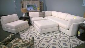 Nice sofa selling at  store Stock Photo