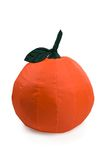 Nice and soft beanbag in shape of fruit Royalty Free Stock Photography