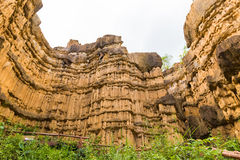 Nice soil erosion Stock Image