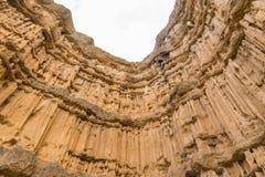 Nice soil erosion Royalty Free Stock Photo