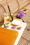 Nice spa arrangement Stock Photo