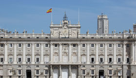 Nice spanish palace Royalty Free Stock Photography
