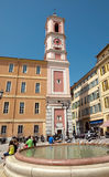 Nice - Square - Place du Palais Royalty Free Stock Photography