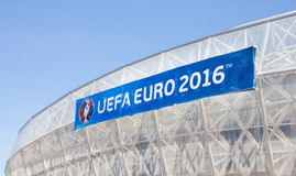 Nice stadium during the Eurocup 2016 Royalty Free Stock Photos