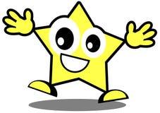 Nice star cartoon Royalty Free Stock Photo