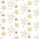 A nice star seamless pattern Royalty Free Stock Image