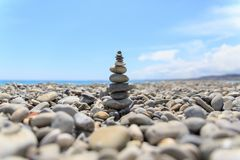 Nice Stones in Nice of France royalty free stock photography