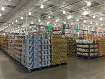 Nice store Costco interior Stock Photography