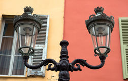 Nice - Street Lamp Stock Photos