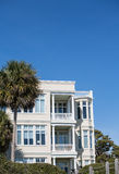 Nice Stucco Beach Home Royalty Free Stock Images