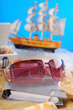 Nice summer holidays memories Royalty Free Stock Image