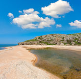 Nice summer scene on sea Royalty Free Stock Photos