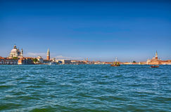 Nice summer venetian seaview in Venice, Italy Stock Images