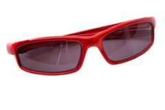 Nice sunglasses for children royalty free stock photography