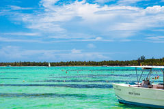 Nice sunny day in Punta Cana, 01.05.13 Royalty Free Stock Photography