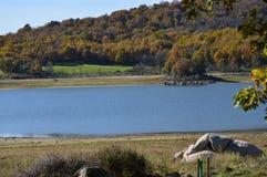 Nice Sunny Day To Enjoy From de Kust van het Pajero-Reservoir 14 november, 2015 Aard, Reis, Landschappen Pajarero royalty-vrije stock afbeeldingen