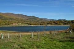 Nice Sunny Day To Enjoy From de Kust van het Pajero-Reservoir 14 november, 2015 Aard, Reis, Landschappen Pajarero royalty-vrije stock foto's