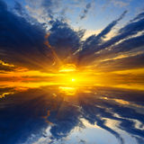 Nice sunset Royalty Free Stock Photo