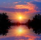 Nice sunset Stock Image