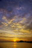 Nice sunset sky Royalty Free Stock Images