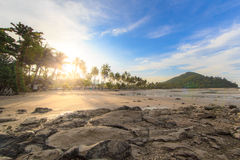Nice sunsets. Best place to relax at Koh Phi Phi,Thailand Royalty Free Stock Images
