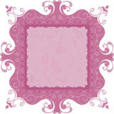 Nice swirl frame for the best design Royalty Free Stock Photography