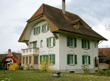 Nice Swiss House 10 Stock Images