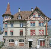 Nice Swiss House 8 Royalty Free Stock Images