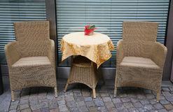 Nice table for two Stock Image