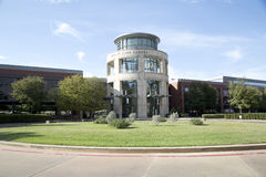 Nice Tarrant County college campus view. Tarrant County college campus in city Fort Worth, TX USA Stock Photos