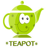 Nice teapot Stock Photography