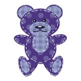 nice teddy bear scrapbook Royalty Free Stock Image