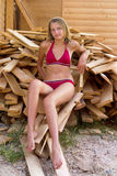 Nice teen girl Stock Photos