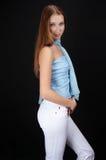 Nice teenager posing Stock Photography