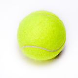 Nice Tennis ball isolated Royalty Free Stock Images