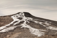 A nice texture from Mud Volcanoes, Romania Royalty Free Stock Image