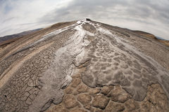 A nice texture from Mud Volcanoes, Romania Royalty Free Stock Images