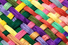 Nice thread floss. In various colors Royalty Free Stock Image