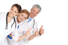 Nice three doctors Stock Image