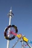 Nice thrill rides at State Fair of Texas Dallas Stock Photo