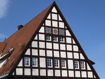 Nice timbered house in Germany Royalty Free Stock Photo