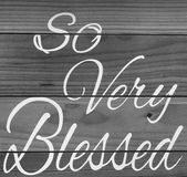 Nice tips about blessed black and white picture Royalty Free Stock Photos