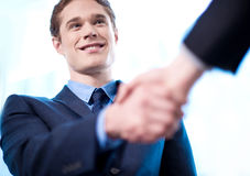 Nice to meet you! Royalty Free Stock Images